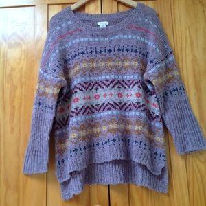 Sundance | Wool Fair Isle Sweater